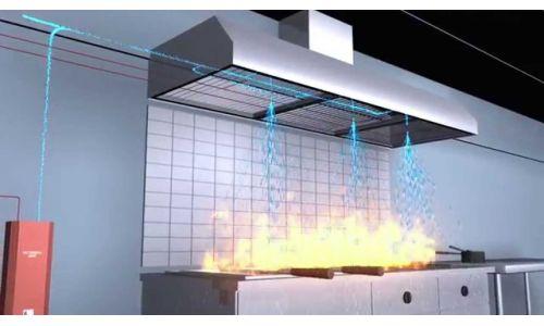 συστήματα wet chemical - κατάσβεσης  - συστήματα τοπικής εφαρμογής wet chemical